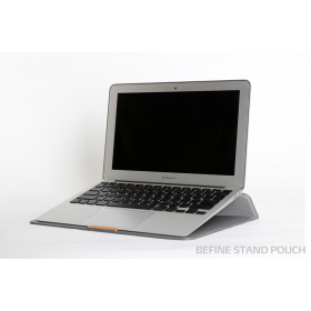 "Чехол для Macbook Air 11"" Stand Pouch Denim Light Gray"