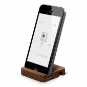 Подставка для iPhone 5 Elago S5 Stand Natural Wood Walnut