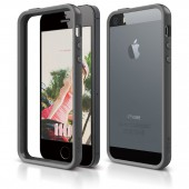 Бампер для iPhone 5 / 5s Elago S5 Bumper Dark Gray