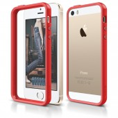 Бампер для iPhone 5 / 5s Elago S5 Bumper Red