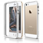 Бампер для iPhone 5 / 5s Elago S5 Bumper White