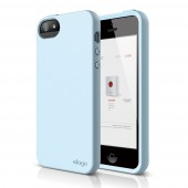 Чехол для iPhone 5 / 5s Elago S5 Flex Candy Blue