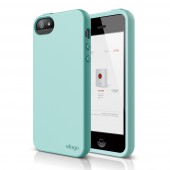 Чехол для iPhone 5 / 5s Elago S5 Flex Foam Green