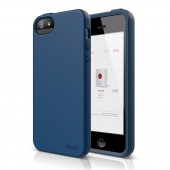 Чехол для iPhone 5 / 5s Elago S5 Flex Jean Indigo