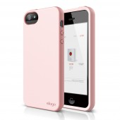 Чехол для iPhone 5 / 5s Elago S5 Flex Lovey Pink