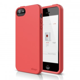 Чехол для iPhone 5 / 5s Elago S5 Flex Italian Rose