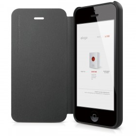 Чехол для iPhone 5 / 5s Elago S5 Leather Flip Black