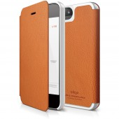 Чехол для iPhone 5 / 5s Elago S5 Leather Flip Orange