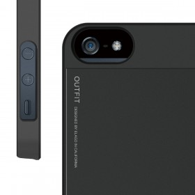 Чехол для iPhone 5 / 5s Elago S5 Outfit Aluminum Black