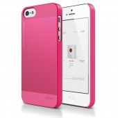 Чехол для iPhone 5 / 5s Elago S5 Outfit Aluminum Hot Pink
