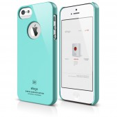 Чехол для iPhone 5 / 5s Elago S5 Slim Fit Coral Blue