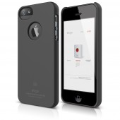 Чехол для iPhone 5 / 5s Elago S5 Slim Fit SF Dark Grey