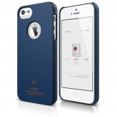 Чехол для iPhone 5 / 5s Elago S5 Slim Fit SF Jean Indigo