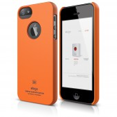 Чехол для iPhone 5 / 5s Elago S5 Slim Fit SF Orange