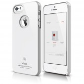 Чехол для iPhone 5 / 5s Elago S5 Slim Fit White