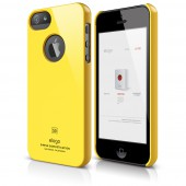 Чехол для iPhone 5 / 5s Elago S5 Slim Fit Yellow