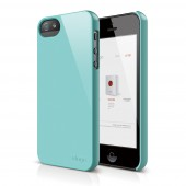 Чехол для iPhone 5 / 5s Elago S5 Slim Fit 2 Coral Blue