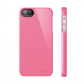 Чехол для iPhone 5 / 5s Elago S5 Slim Fit 2 Hot Pink