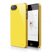Чехол для iPhone 5 / 5s Elago S5 Slim Fit 2 Yellow