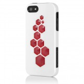 Чехол для iPhone 5 Incipio CODE - Optical White