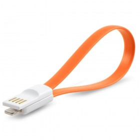 Кабель USB-Lightning iMee для iPhone и iPad (Orange)