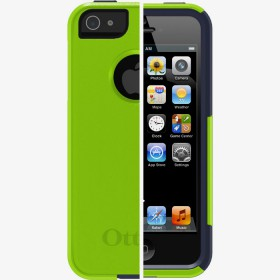 Чехол для iPhone 5 OtterBox Commuter Series Glow Green