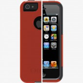 Чехол для iPhone 5 OtterBox Commuter Series Lava Orange