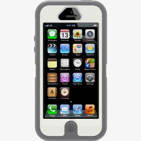 Чехол для iPhone 5 OtterBox Defender Series Gunmetal Grey