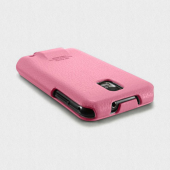 Чехол для Samsung Galaxy S2 SGP Leather Case Argos Series Pink (SGP07733)