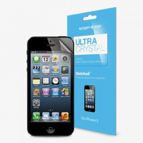 Защитная пленка для iPhone 5 SGP Steinheil Ultra Crystal (SGP08196)
