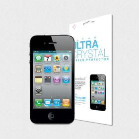 Защитная пленка для iPhone 4S SGP Steinheil Ultra Crystal (SGP08309)