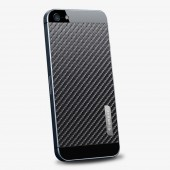 Защитная наклейка для iPhone 5 SGP Skin Guard Set Carbon Black (SGP09571)