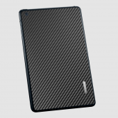 Защитная наклейка для iPad mini SGP Skin Guard Set Carbon Pattern Black (SGP10066)