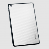 Защитная наклейка для iPad mini SGP Skin Guard Set Carbon Pattern White (SGP10067)
