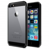 Чехол для iPhone 5 SGP Ultra Hybrid Black (SGP10517)