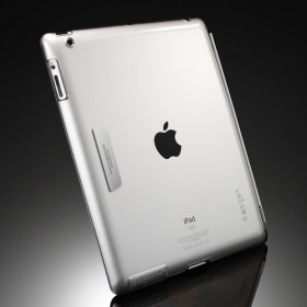 Чехол для iPad 4, 3 SGP Ultra Thin Series Crystal Clear (SGP09145)