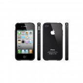 Бампер для iPhone 4, 4S SGP Linear EX Color Series Black (SGP08372)