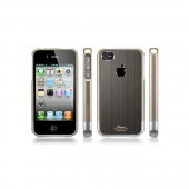 Бампер для iPhone 4, 4S SGP Linear Blitz Gunmetal (SGP08338)