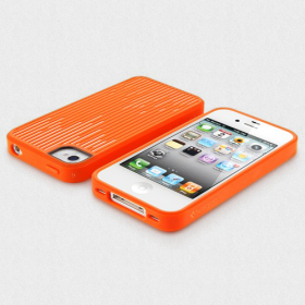 Чехол для iPhone 4, 4S SGP Modello Series Tangerine Tango (SGP08798)