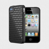 Чехол для iPhone 4, 4S SGP Modello Series Soul Black (SGP08801)