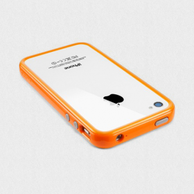 Чехол для iPhone 4, 4S SGP Neo Hybrid 2S Pastel Solaris Orange (SGP08364)