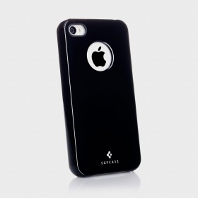 Чехол для iPhone 4, 4S SGP Ultra Thin Air Series Black (SGP08378)