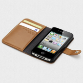 Чехол для iPhone 4, 4S SGP Wallet Case Valentinus Series Vintage (SGP08524)