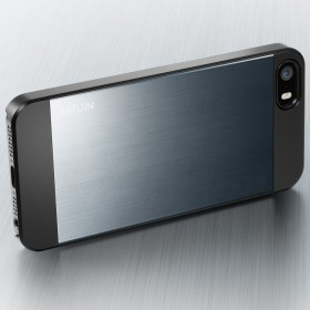 Чехол для iPhone 5 SGP Saturn Metal Slate (SGP10142)