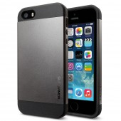 Чехол для iPhone 5 SGP Slim Armor Gunmetal (SGP10089)