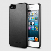 Чехол для iPhone 5 SGP Leather Grip Black (SGP09601)