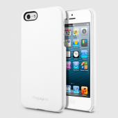 Чехол для iPhone 5 SGP Leather Grip White (SGP09602)
