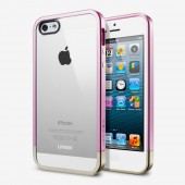 Чехол для iPhone 5 SGP Linear Metal Crystal Pink (SGP10045)