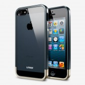 Чехол для iPhone 5 SGP Linear Metal Crystal Slate (SGP10044)