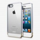 Чехол для iPhone 5 SGP Linear Metal Crystal Silver (SGP10046)